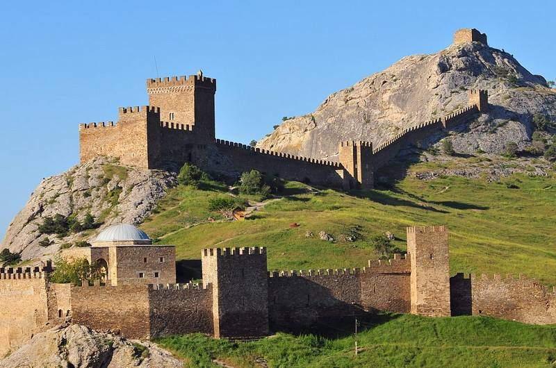 Генуэзская крепость в Судаке, фото
