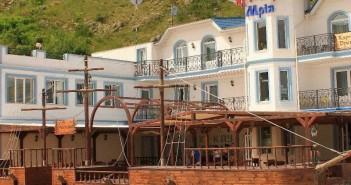 Гостиничный комплекс Мрия. Фото фасада