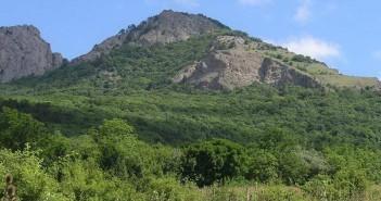 Гора Пиляки в Крыму, фото