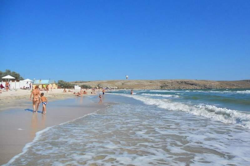 Пляж Татарка, Щелкино