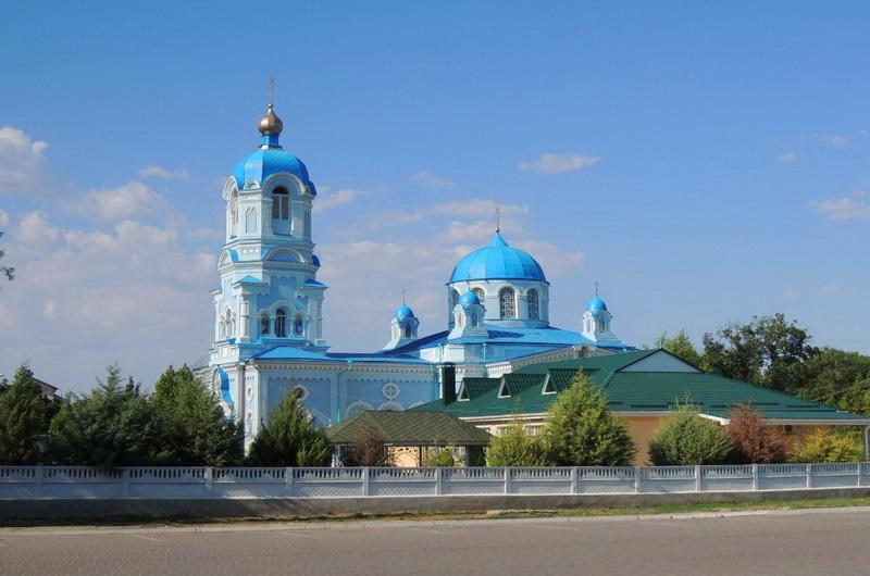 Саки. Свято-Ильинский храм
