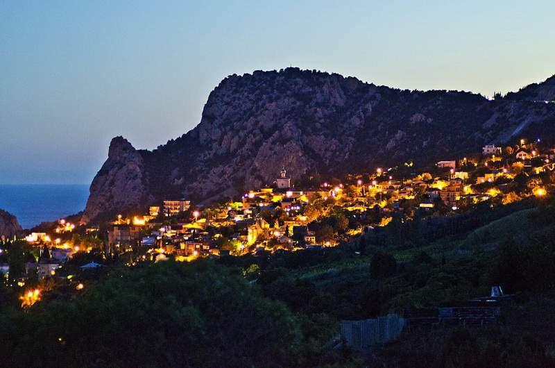 Гора Кошка. Симеиз