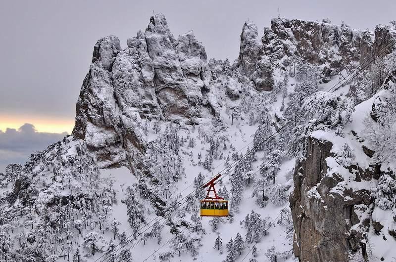 Ай-Петри зимой. Фото: Ю.Югансон