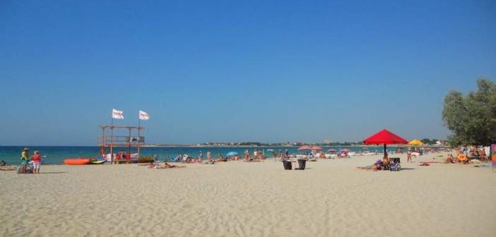 Пляж Черноморского