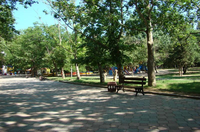 Феодосия, Комсомольский парк