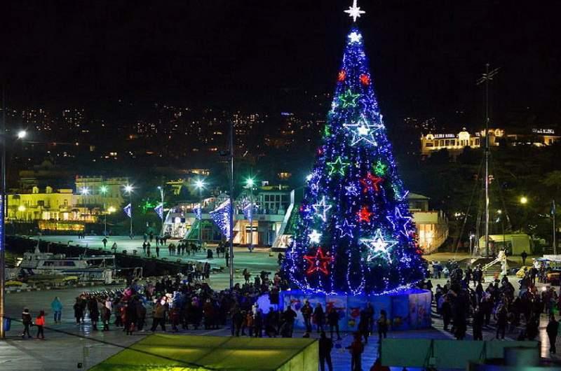 Новый год в Крыму. Фото: С.Титов