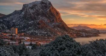 Гора Сокол зимой. Фото: Владимир Новоселов