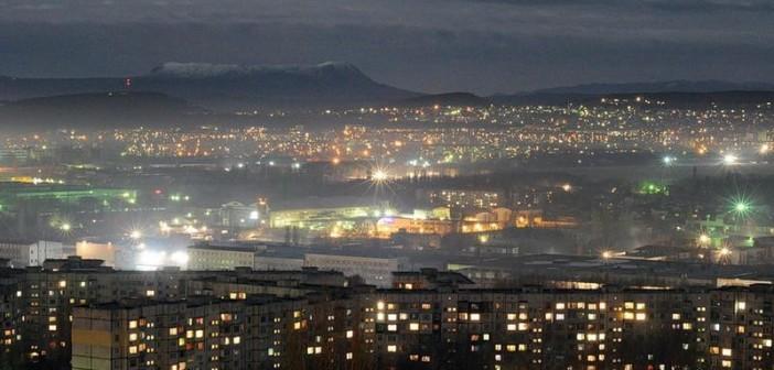 Симферополь ночью