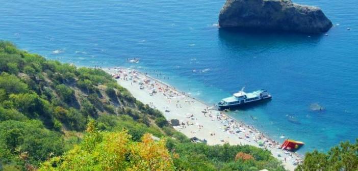 Яшмовый пляж, Фиолент