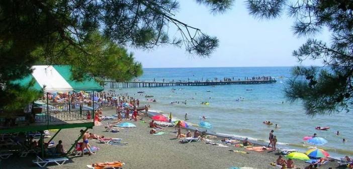 Пляж Малореченского