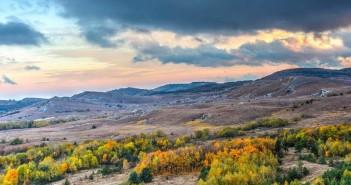 Крымские горы в октябре