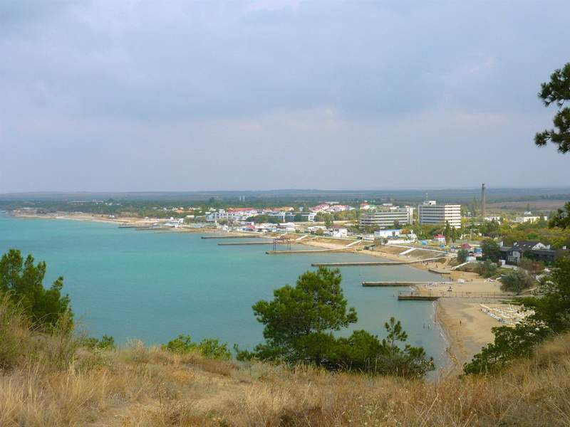 Поселок песчаное крым фото
