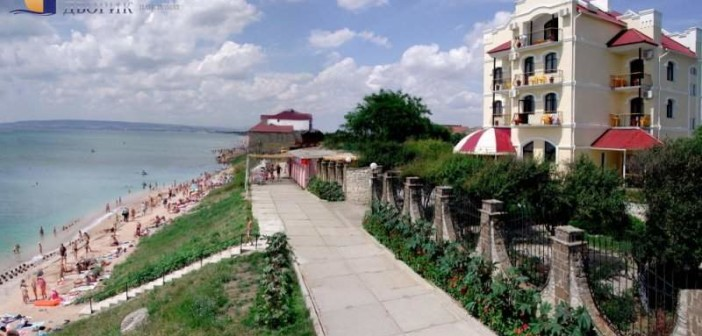 Приморский дворик, фото