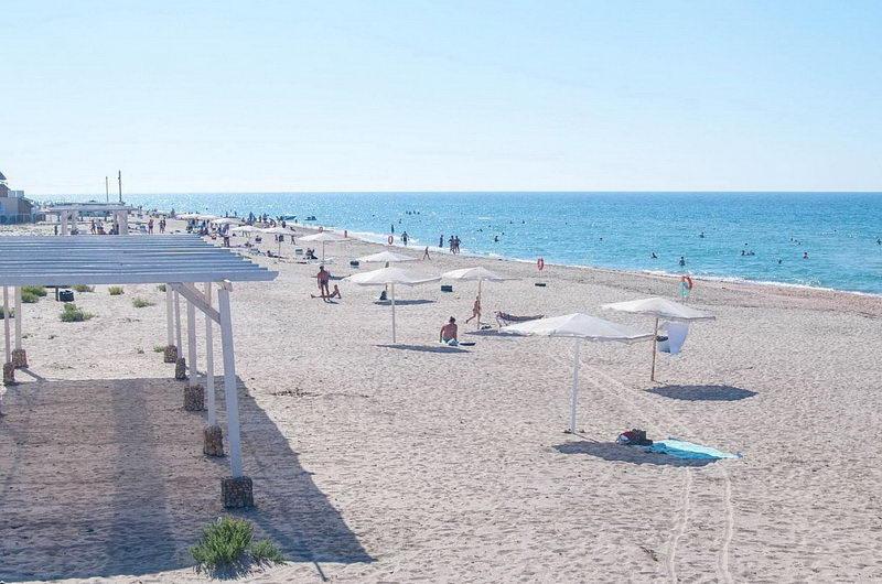 Пляжи Штормового в Крыму – фото, описание | Пансионат Ялтас | 530x800